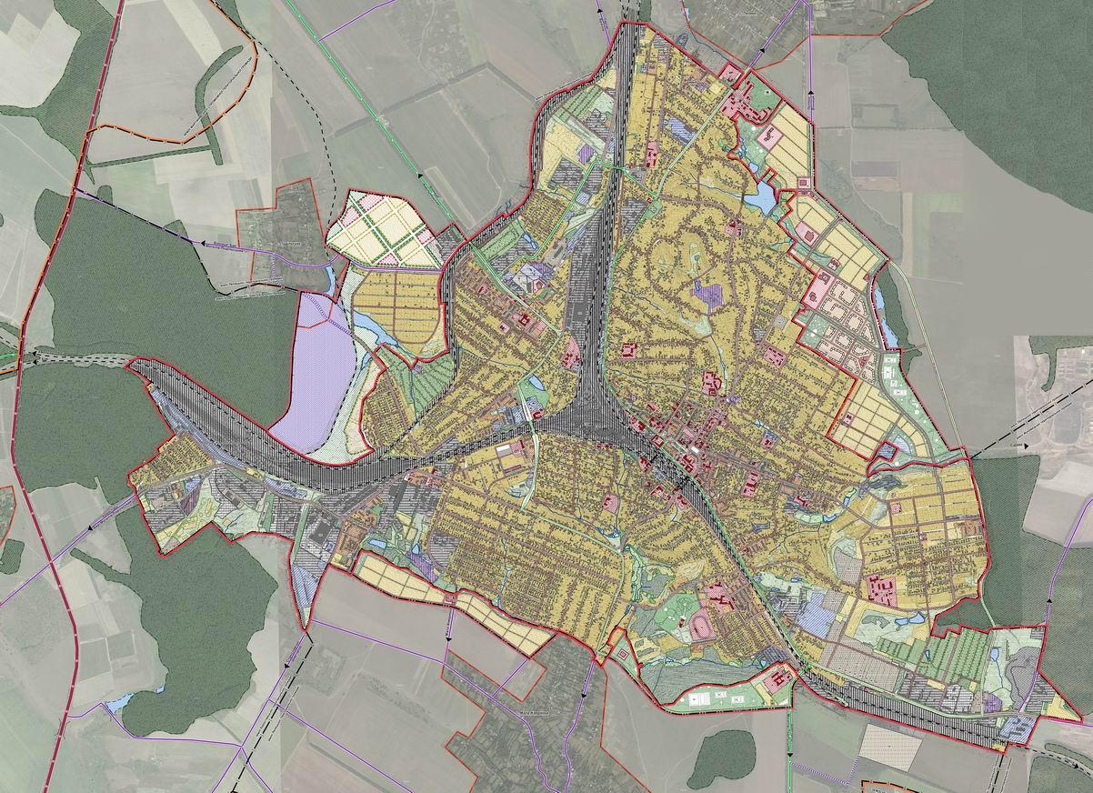 Модель перспективного развития города