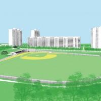 Бейсбольное поле по ул. Пятихатской в г. Харькове