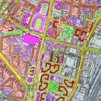 Детальный план территории вокруг стадиона «Металлист»