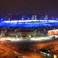 Metalist stadium reconstruction