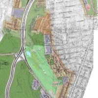 Детальный план территории вдоль правобережных подходов к Кайдакскому мосту